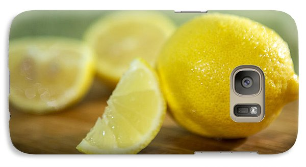Lemon Citrus Limon Zitronen Galaxy S7 Case by Iris Richardson