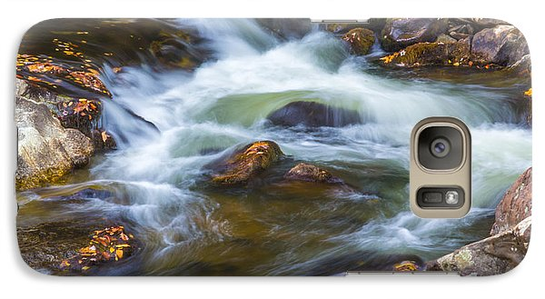 Galaxy Case featuring the photograph  Linville Falls  by Patricia Schaefer