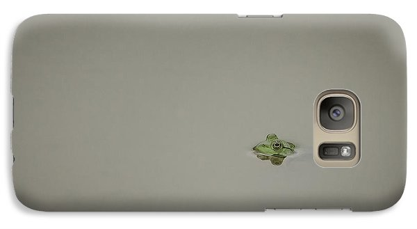 Galaxy Case featuring the photograph  Lonely Frog by Bradley Clay