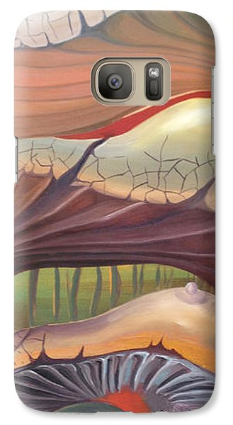 Galaxy Case featuring the painting  Make A Wish... by Art Ina Pavelescu