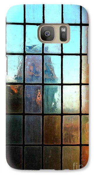 Galaxy Case featuring the photograph  Malbork Castle Poland - Meditation by Jacqueline M Lewis
