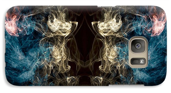 Minotaur Smoke Abstract Galaxy Case by Edward Fielding
