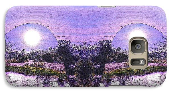 Galaxy Case featuring the photograph  Mirrored Ego by Yolanda Raker