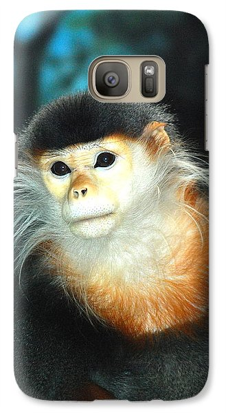 Galaxy Case featuring the photograph  Mr. Handsome by Kathy Gibbons
