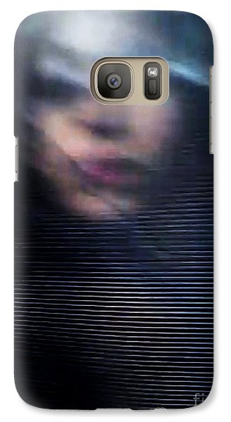 Galaxy Case featuring the photograph  My Veneer by Jessica Shelton