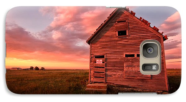 Galaxy Case featuring the photograph  No Trespassing by Ronda Kimbrow
