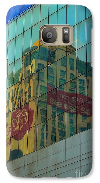 Galaxy Case featuring the photograph  Office For Sale by Michelle Meenawong