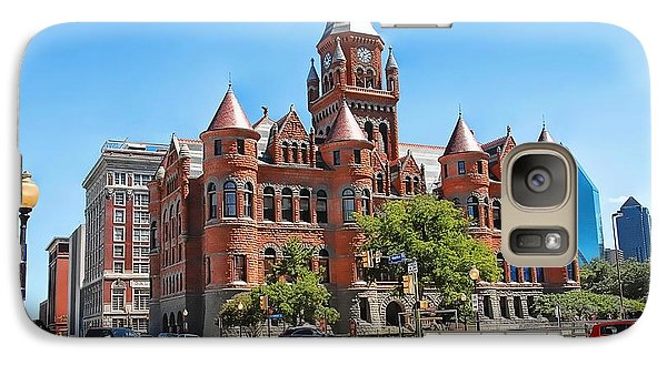 Galaxy Case featuring the photograph   Old Red Museum - Dallas  by Dyle   Warren