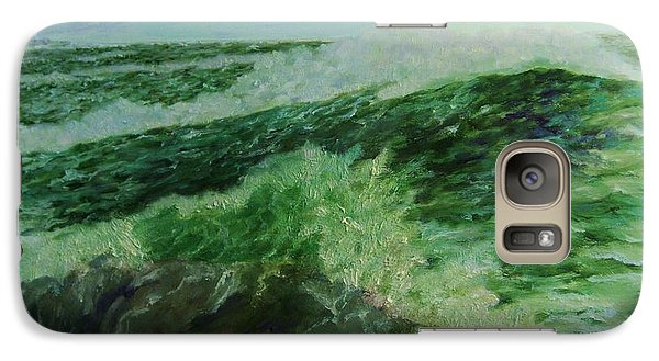 Galaxy Case featuring the painting   Power  Of  Nature by Beth Arroyo