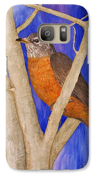 Galaxy Case featuring the painting  Rob by Jane Chesnut