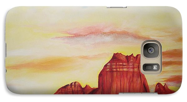 Galaxy Case featuring the painting  Sedona Az by Eric  Schiabor