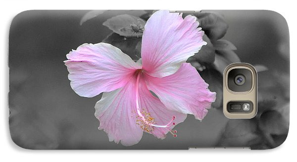 Galaxy Case featuring the photograph  Soft Pink by Michelle Meenawong