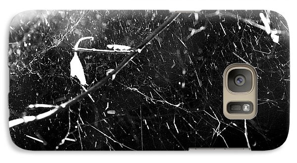 Galaxy Case featuring the photograph  Spidernet by Yulia Kazansky