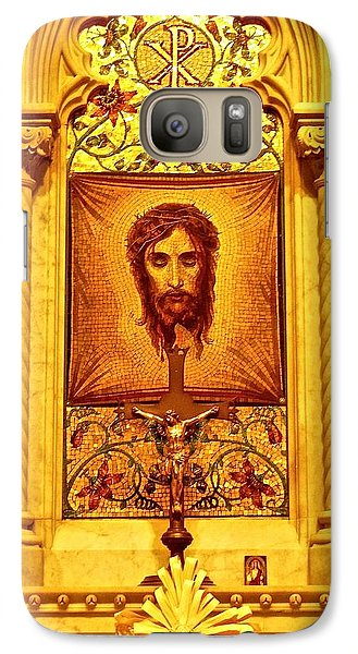 Galaxy Case featuring the photograph  St. Patrick Nyc  Altar by Joan Reese