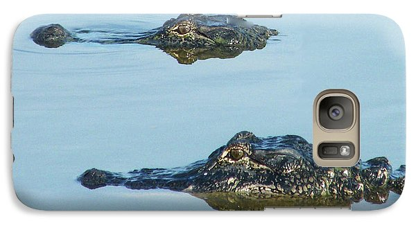 Galaxy Case featuring the photograph  Swamp Patrol by Lizi Beard-Ward