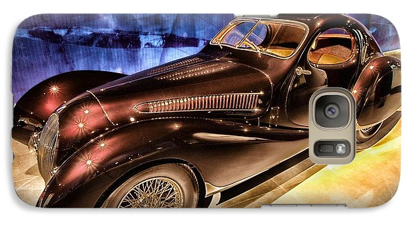 Galaxy Case featuring the photograph  Talbot Lago 1937 Car Automobile Hdr Vehicle  by Paul Fearn