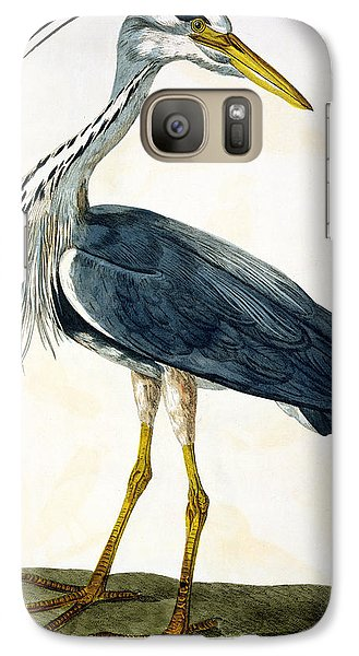 The Heron  Galaxy S7 Case by Peter Paillou