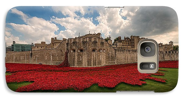 Tower Of London Remembers.  Galaxy S7 Case