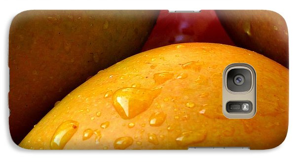 Galaxy Case featuring the photograph  Tres Mangoes by Greg Allore