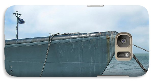 Galaxy Case featuring the photograph Uss Pampanito - Vintage Submarine by Connie Fox