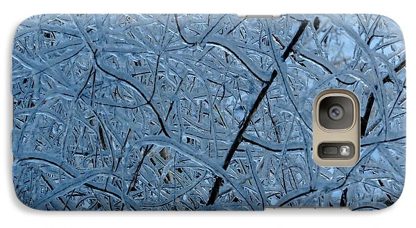 Galaxy Case featuring the photograph  Vegetation After Ice Storm  by Daniel Reed