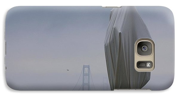 Galaxy Case featuring the photograph  Veil Monument by Randy Pollard