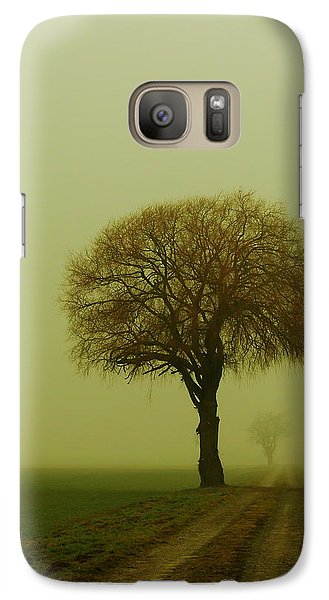 Galaxy Case featuring the photograph  Walk In The Fog by Franziskus Pfleghart