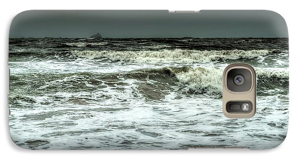 Galaxy Case featuring the photograph  Waves by Michelle Meenawong