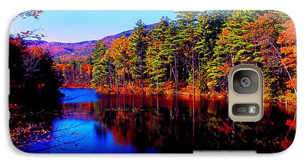 Galaxy Case featuring the photograph  White Mountians National Park Red Eagle Pond New Hampshire by Tom Jelen
