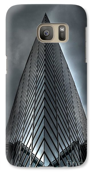 Galaxy Case featuring the photograph  Windows by Michelle Meenawong