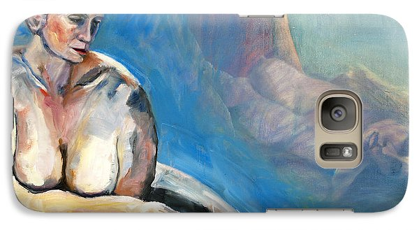 Galaxy Case featuring the painting 01293 Memories by AnneKarin Glass