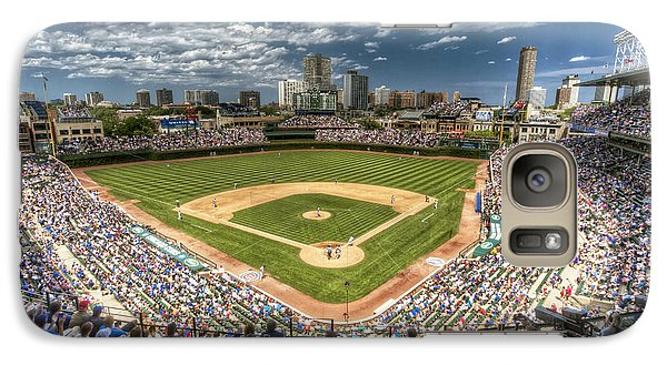 0234 Wrigley Field Galaxy Case by Steve Sturgill
