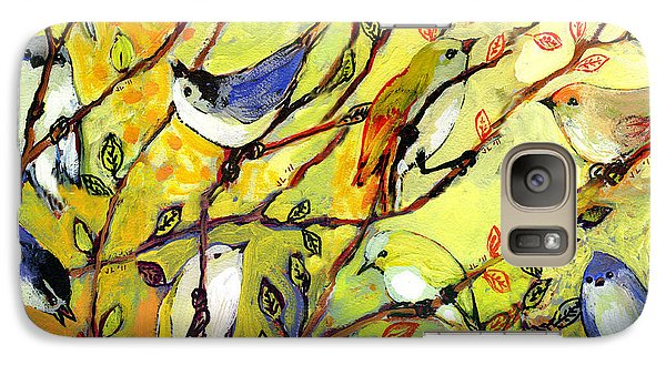 16 Birds Galaxy S7 Case by Jennifer Lommers