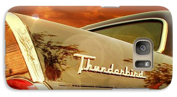 Vintage Car Galaxy Case featuring the photograph 1957 Ford Thunderbird  by Aaron Berg