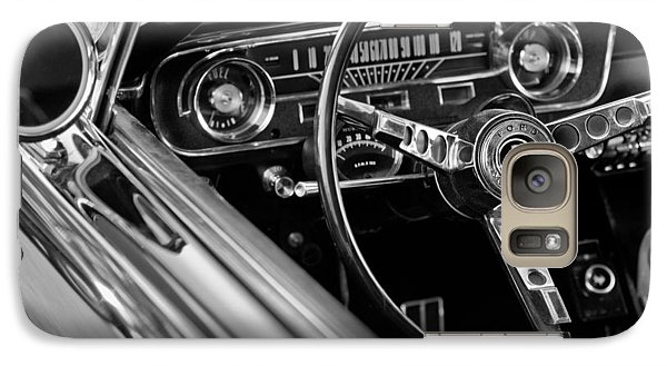 1965 Shelby Prototype Ford Mustang Steering Wheel Galaxy S7 Case