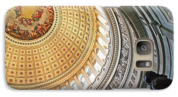 Galaxy Case featuring the photograph A Capitol Rotunda by Cora Wandel