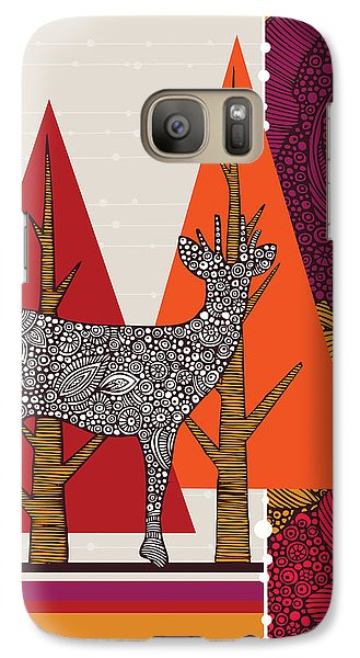 A Deer In Woodland Galaxy S7 Case