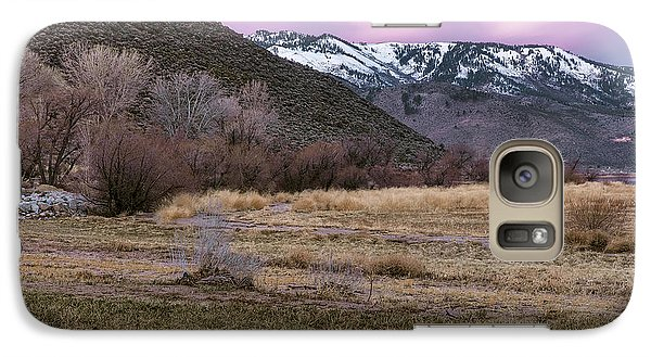 Galaxy Case featuring the photograph A Favorite Place by Nancy Marie Ricketts