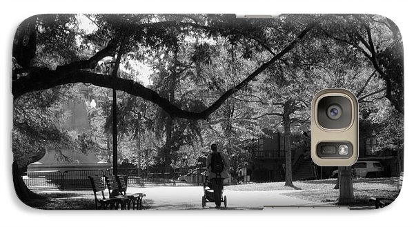 Galaxy Case featuring the photograph A Walk In The Park by Shelley Bain