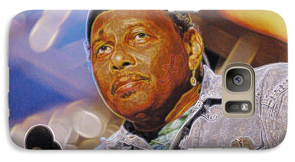 Galaxy Case featuring the photograph Aaron Neville by Don Olea