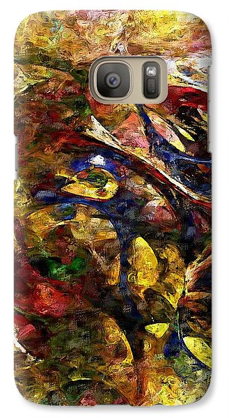 Galaxy Case featuring the digital art Abstraction 042714 by David Lane