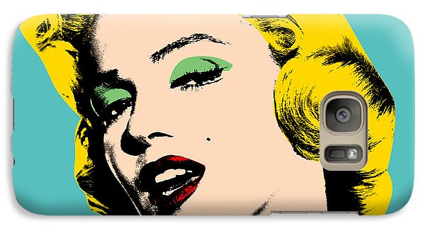 Marilyn Monroe Galaxy S7 Case - Andy Warhol by Mark Ashkenazi