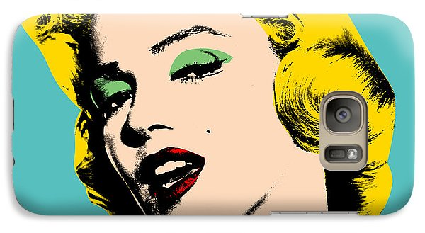 Andy Warhol Galaxy S7 Case by Mark Ashkenazi