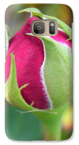 Galaxy Case featuring the photograph Anticipation by Deb Halloran