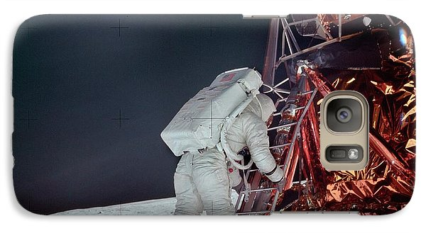 Apollo 11 Moon Landing Galaxy Case by Image Science And Analysis Laboratory, Nasa-johnson Space Center