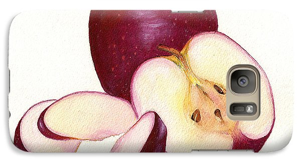 Galaxy Case featuring the painting Apples To Apples by Nan Wright