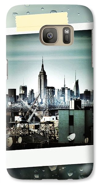 April In Nyc Galaxy Case by Natasha Marco