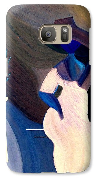 Galaxy Case featuring the painting April In Paris by Bill OConnor