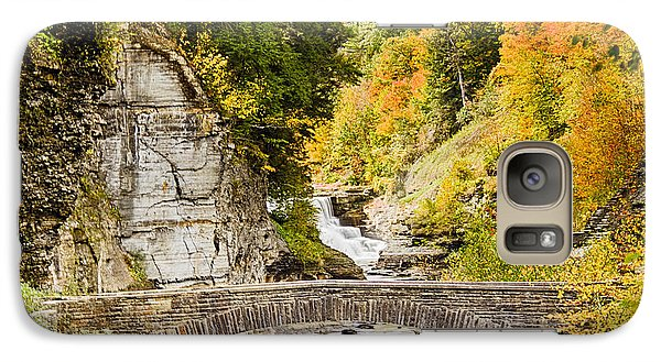 Galaxy Case featuring the photograph Arched Bridge by Jim Lepard