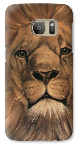 Galaxy Case featuring the painting Asland by Nancy Bradley